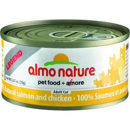 Almo Nature HFC Natural Salmon & Chicken Canned Cat Food 70g