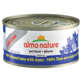 15% OFF: Almo Nature HFC Natural Tuna With Clams Canned Cat Food 70g