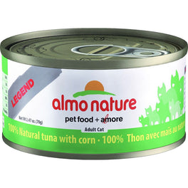 Almo Nature HFC Natural Tuna With Corn Canned Cat Food 70g