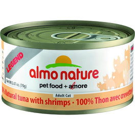 15% OFF: Almo Nature HFC Natural Tuna & Shrimps Canned Cat Food 70g