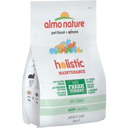 '50% OFF': Almo Nature Holistic Adult Turkey and Rice Dry Cat Food (Exp April 19)