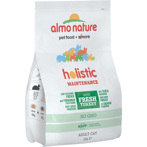 20% OFF: Almo Nature Holistic Adult Turkey and Rice Dry Cat Food 2kg (Exp April 19)