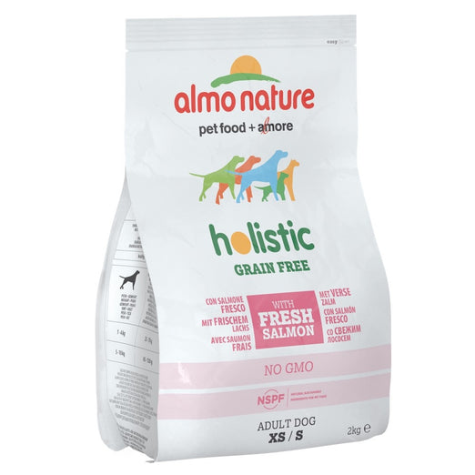 Almo Nature Holistic Extra Small to Small Adult Grain Free Salmon Dry Dog Food 2kg