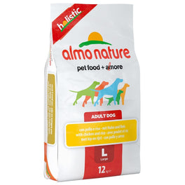 Almo Nature Holistic Large Adult Chicken & Rice Dry Dog Food 12kg