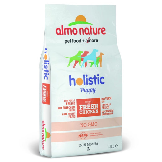 Almo Nature Holistic Large Puppy Chicken & Rice Dry Dog Food 12kg