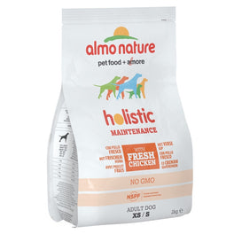Almo Nature Holistic Small Adult Chicken & Rice Dry Dog Food 2kg