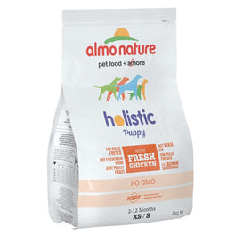Almo Nature Holistic Small Puppy Chicken & Rice Dry Dog Food 2kg