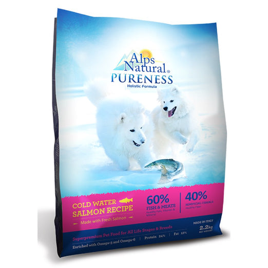 Alps Natural Pureness Holistic Cold Water Salmon Dry Dog Food - Kohepets