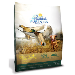 Alps Natural Pureness Holistic Formula Free Run Duck Recipe Dry Dog Food
