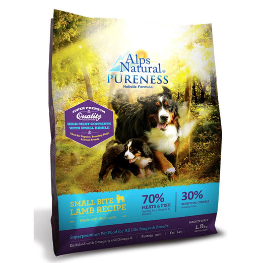 Alps Natural Pureness Holistic Formula Small Bite Lamb Recipe Dry Dog Food
