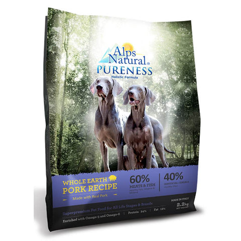 Alps Natural Pureness Holistic Whole Earth Pork Dry Dog Food