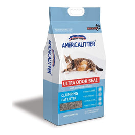 BUY 2 GET 1 FREE: America Litter Ultra Odour Seal Clumping Cat Litter 10L