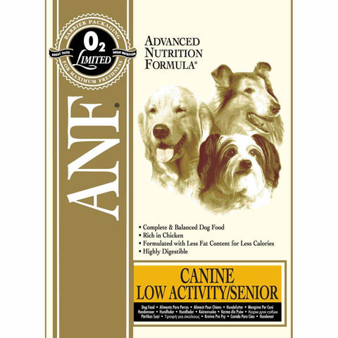ANF Low Activity Senior Formula Dry Dog Food