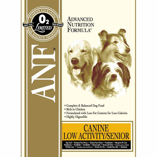 ANF Low Activity Senior Formula Dry Dog Food - Kohepets