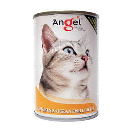 Angel Chicken & Ocean Fish In Jelly Canned Cat Food 400g