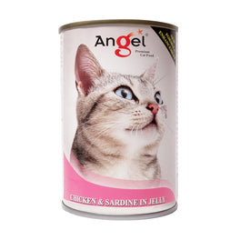 Angel Chicken & Sardine In Jelly Canned Cat Food 400g
