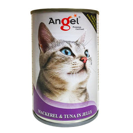 Angel Mackerel & Tuna In Jelly Canned Cat Food 400g