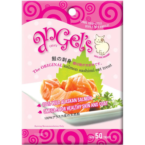 Angel's Salmon Sashimi Cat Treats 17g