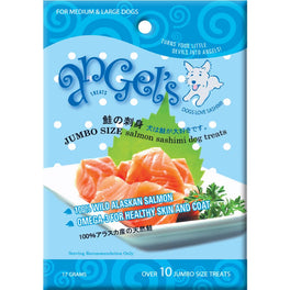 Angel's Jumbo Salmon Sashimi Dog Treats 17g