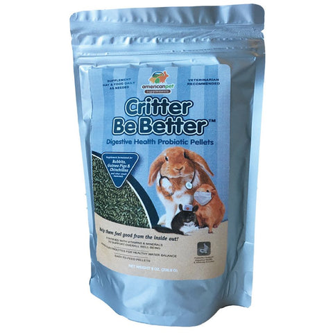 American Pet Diner Critter Be Better Digestive Health Pellets - Kohepets