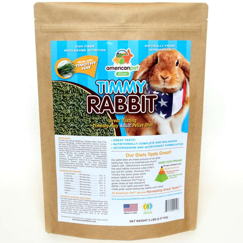 American Pet Diner Timmy Rabbit Pellet Food