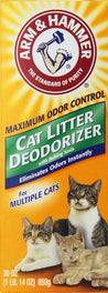 Arm & Hammer Cat Litter Deodoriser Powder For Multiple Cats 30oz
