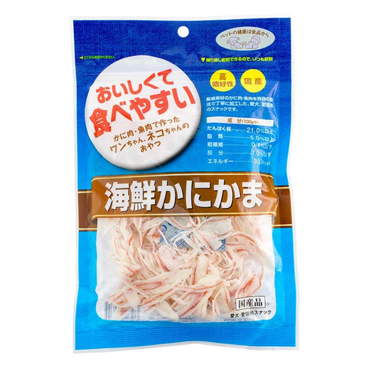 Asuku Kamaboko Crab Slices Cat & Dog Treats 60g