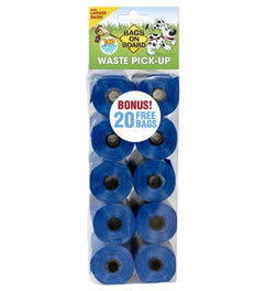 Bags On Board Blue Waste Bag Refill Pack 120 + 20 FREE