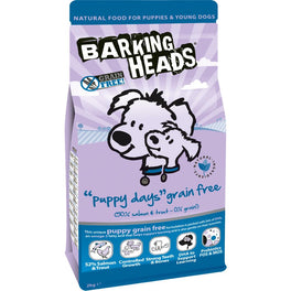Barking Heads Puppy Days GRAIN FREE Dry Dog Food