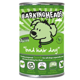 Barking Heads Bad Hair Day Lamb Grain Free Canned Dog Food 400g