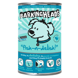 Barking Heads Fish-N-Delish Grain Free Canned Dog Food 400g