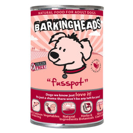 Barking Heads Fusspot Grain Free Canned Dog Food 400g