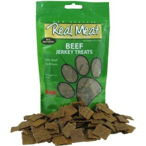 Real Meat Beef Jerky Grain Free Dog Treat 4oz - Kohepets