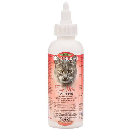 Bio-Groom Ear Mite Treatment 118ml - Kohepets