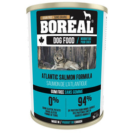 Boreal Atlantic Salmon Grain Free Canned Dog Food 369g