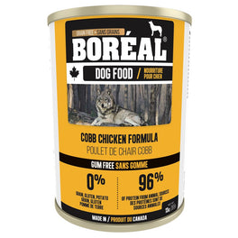 Boreal Cobb Chicken Grain Free Canned Dog Food 369g