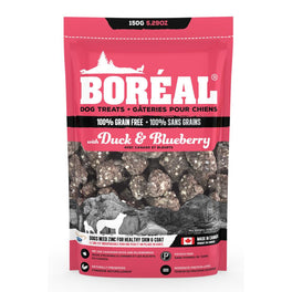 Boreal Duck & Blueberry Grain Free Dog Treats 150g
