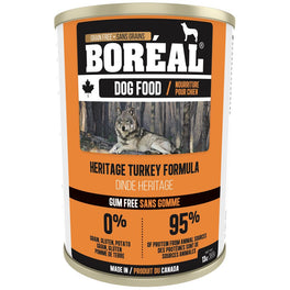 Boreal Heritage Turkey Grain Free Canned Dog Food 369g