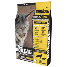 25% OFF + FREE CANNED FOOD: Boreal Proper Chicken With Proper Healthy Grains Dry Cat Food
