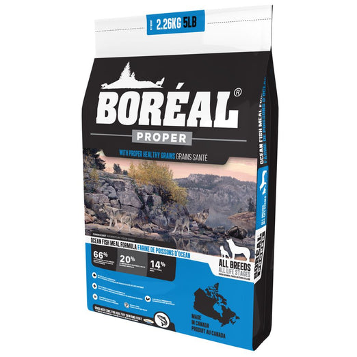 25% OFF: Boreal Proper Ocean Fish Meal Dry Dog Food