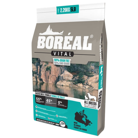 25% OFF: Boreal Vital Chicken Meal Grain-Free Dry Dog Food