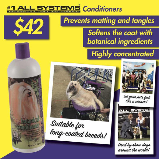 10% OFF WITH GIFT: #1 All Systems Botanical Pet Conditioner