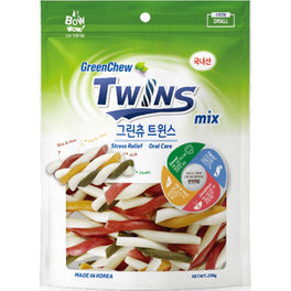 Bow Wow GreenChew Twins Dental Dog Chews 250g