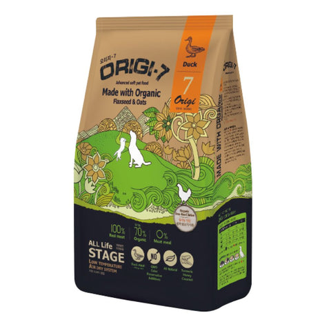 Bow Wow Origi-7 Duck Air-Dried Soft Dry Dog Food 1.2kg