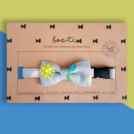 Bowtix Handmade Cat Collar With Removable Bowtie - Color Pops