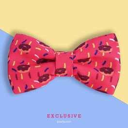 Bowtix Handmade Dog Collar With Removable Bowtie - Sweet Tooth