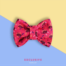 Bowtix Handmade Cat Collar With Removable Bowtie - Sweet Tooth