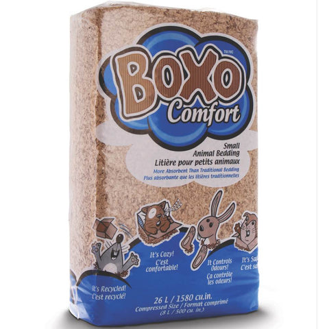 Boxo Comfort Natural Paper Bedding