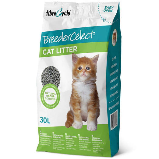 Breedercelect Recycled Paper Cat Litter 30L