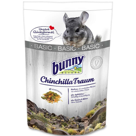 Bunny Nature Dream Basic Chinchilla Food - Kohepets